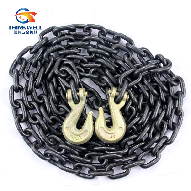 G80 Transport Lashing Drag Chain Binder Chain with Hook