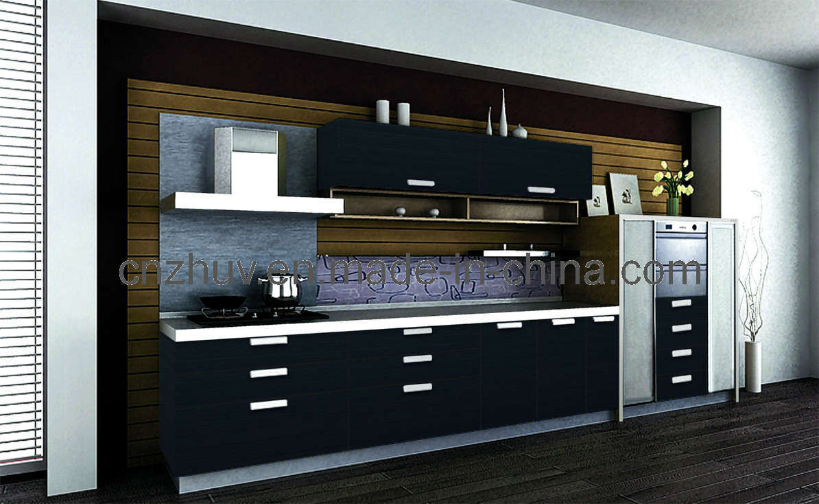 Guangzhou zhihua kitchen cabinet accessories factory - Intergral Acrylic Kitchen Cabinet And Cabinet Door Dm 9623
