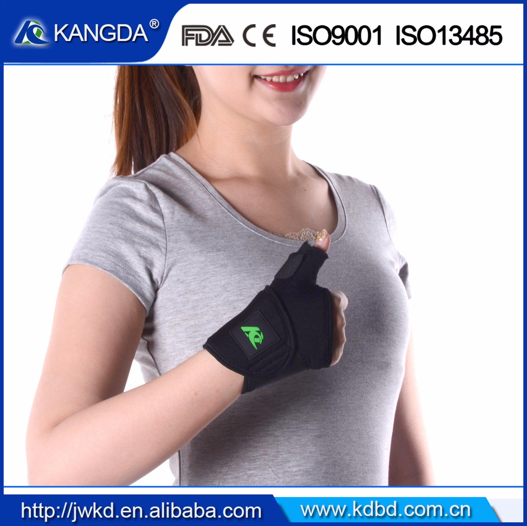 Thumb Finger Elastic Support Splint Brace Band Strap Belt