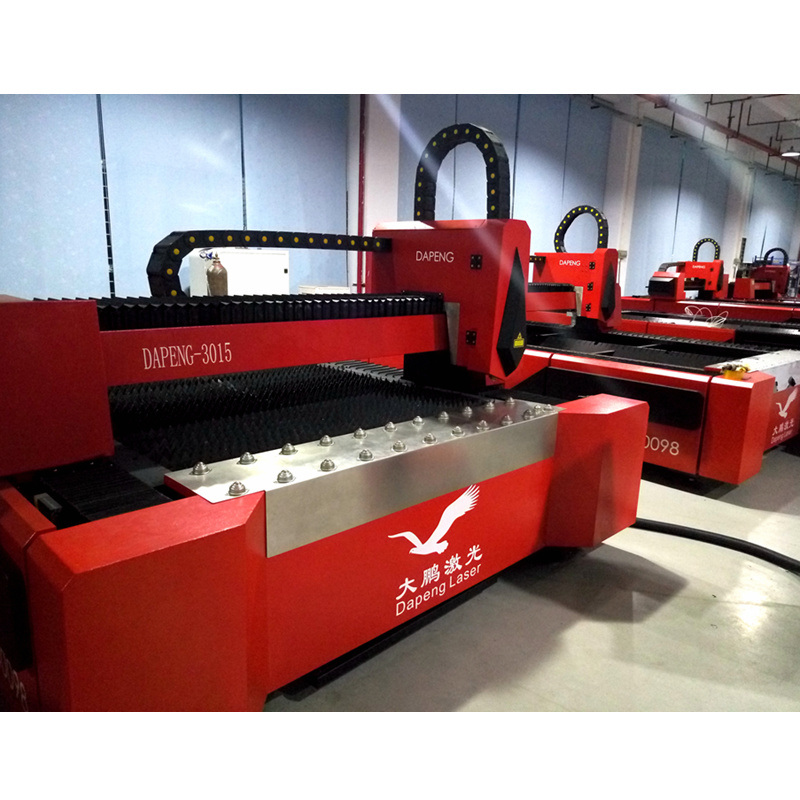 1000W CNC Fiber Laser Cutting Machine for 3mm Magnalium (O2)