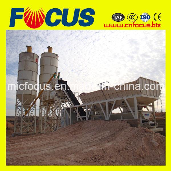 25, 35, 50, 60, 75, 100m3/H Mobile Portable Concrete Mixing Plant/ Batching Plant