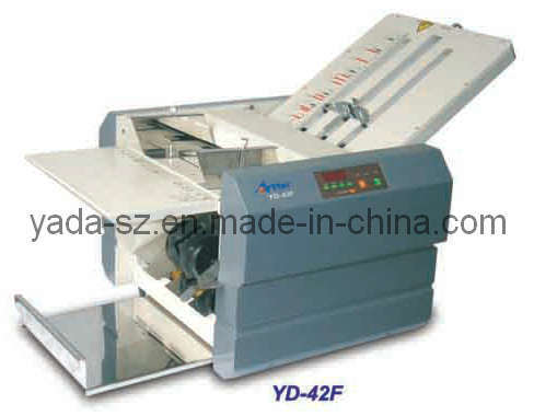 Manual Feeding Office Paper Folding Machine (YD-42F)
