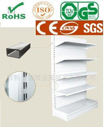 Single Side Gondola Supermarket Shelf Factory Manufacturer