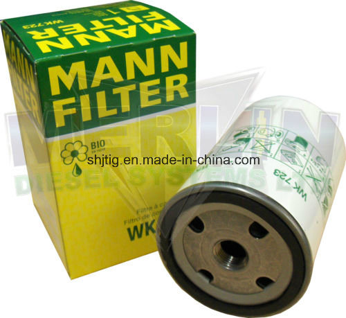 Mann Wk723 Fuel Filter for Volvo, Atlas Truck