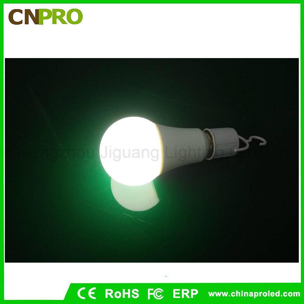Wholesale Energy Saving 12W Intelligent LED Rechargeable Emergency Light Bulb Lighting E27 E26 B22