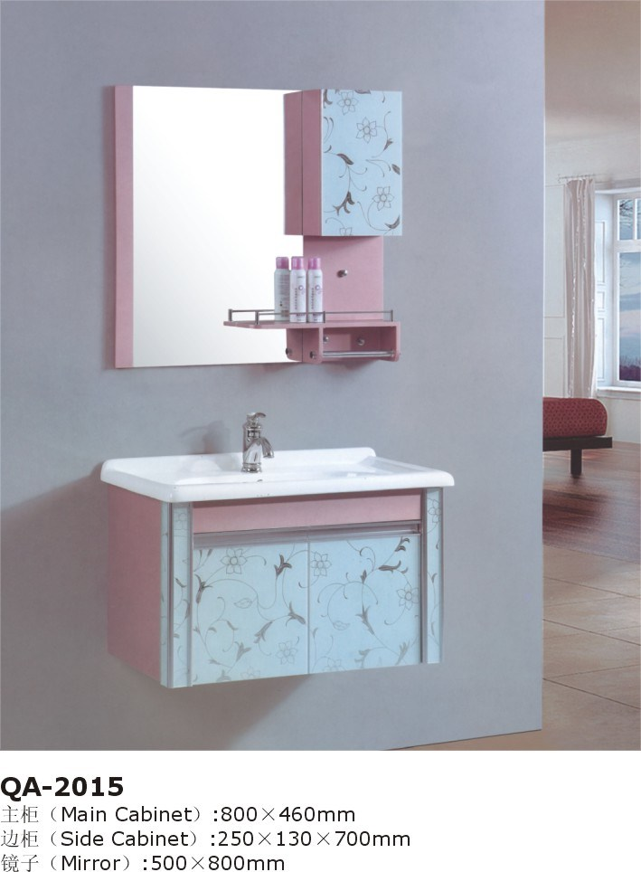 Pink Green Colorful Bath Vanity Cabinet Set GBW051 Photos amp; Pictures
