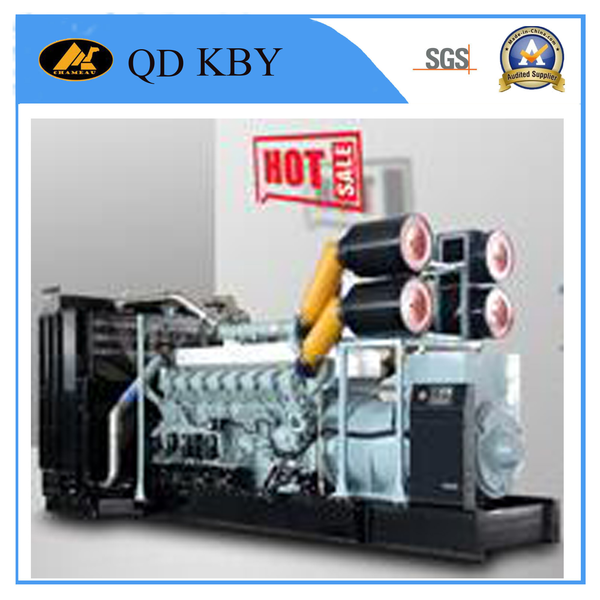 China 200kw 250kVA Water Cooled Four Stroke Diesel Generator with