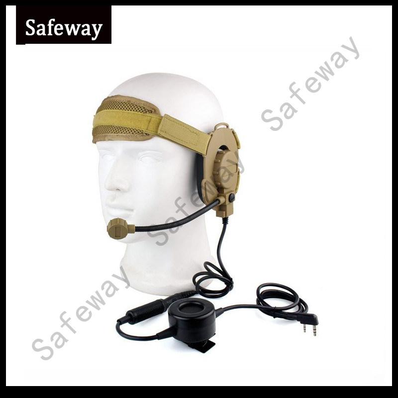 Walkie Taklie Z Tactical Bowman Elite II Headset