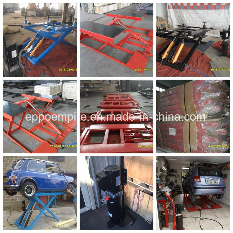 Hydraulic Portable Car Scissor Lift Home Use