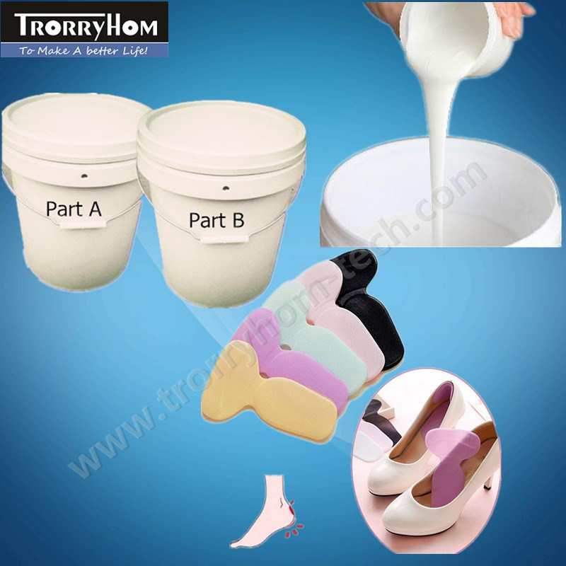Silica Pad Gel Insoles Making RTV-2 Platinum Cure Silicone Rubber