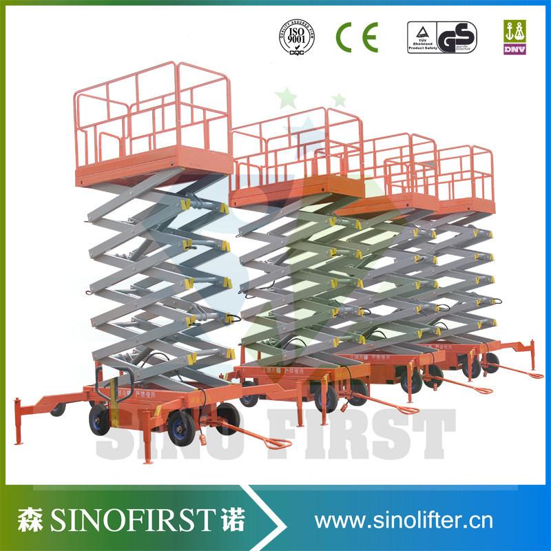 10m Hydraulic Electric Scissor Man Lift Platform