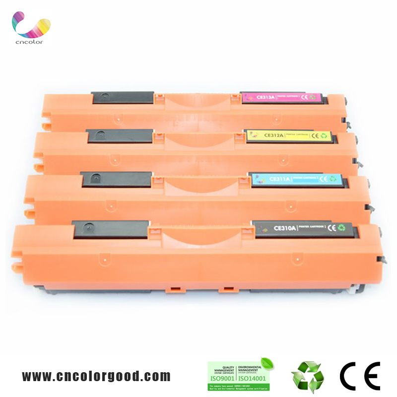 Original Quanlity Laser Toner Color Cartridge Ce310A Series