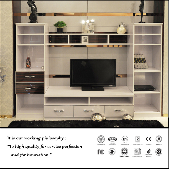 High Glossy White Colour TV Cabinet (FY1031)