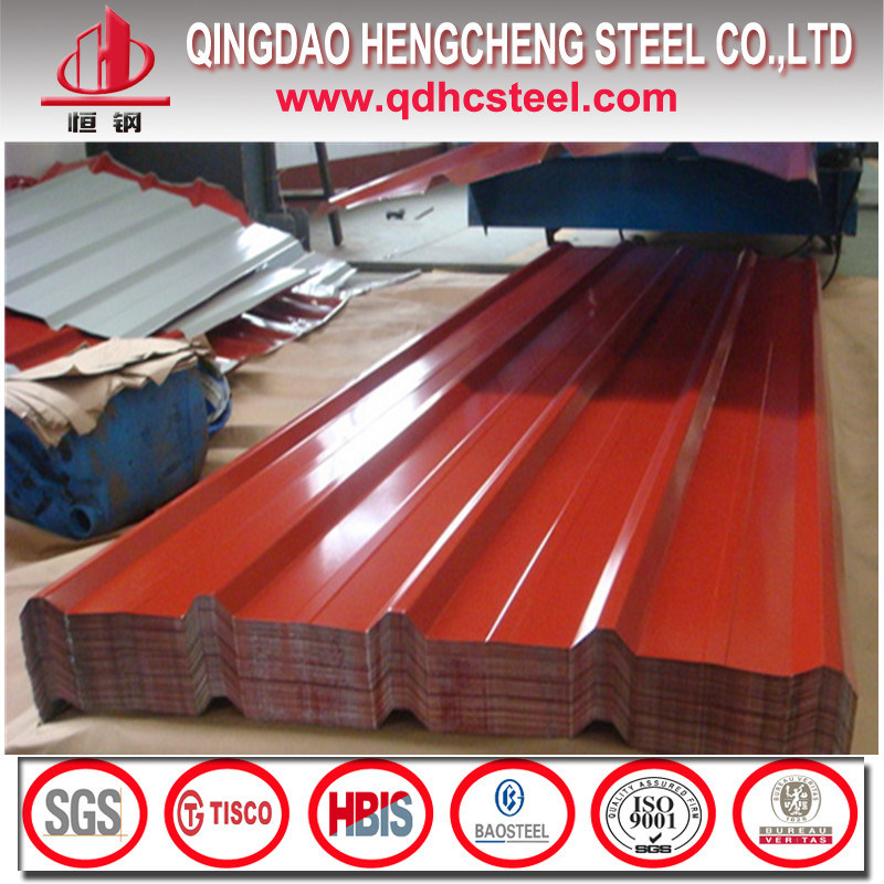 Color Coated Corrugated Steel Sheet From China Mill