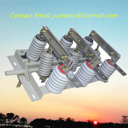 12kv Indoor Hv Disconnecting Switch with Auxiliary Contact (GN19-12/400-12.5)