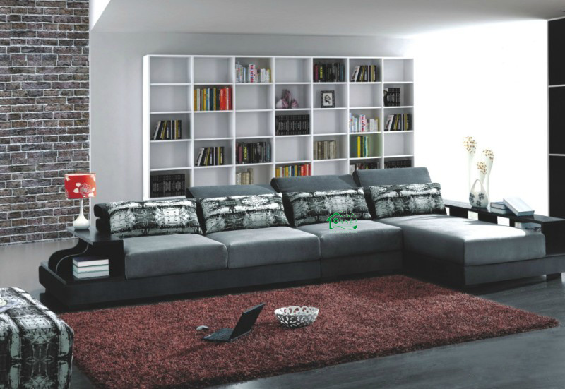 China Corner Fabric Sofa L Shape Modern Sofa Yf Y77