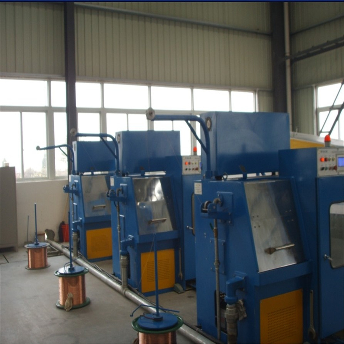 High Speed Fine Copper Wire Drawing Machine (22DS/24 DS)