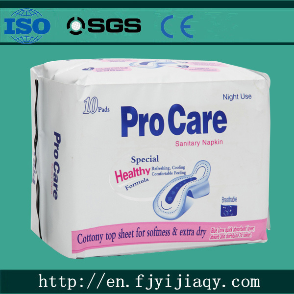 2015 New Anion Sanitary Napkin Brand with Good Quality