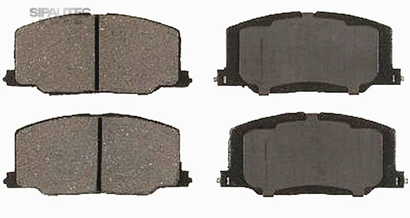 Factory Price Car Parts Brake Pad (d356) for Lexus Toyota Parts