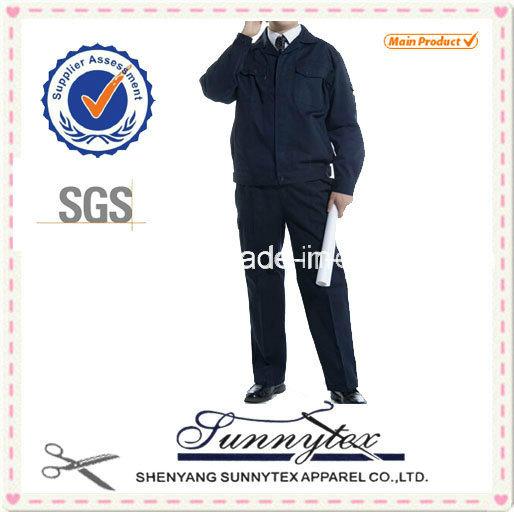 Custom Uniform Cotton High Quality Workwear Suit