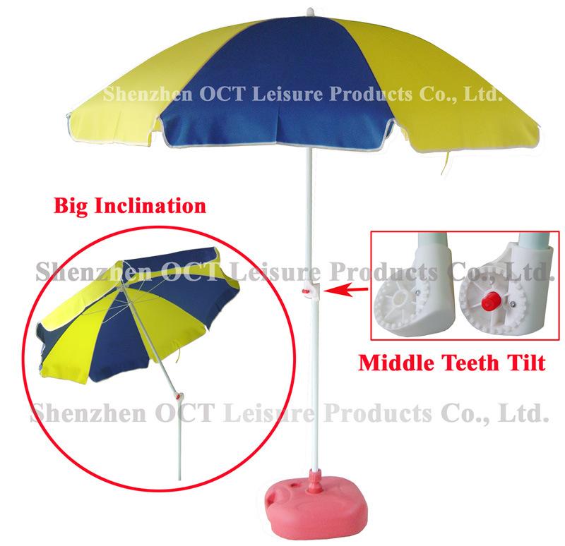 Robust Teeth Tilt Beach Umbrella
