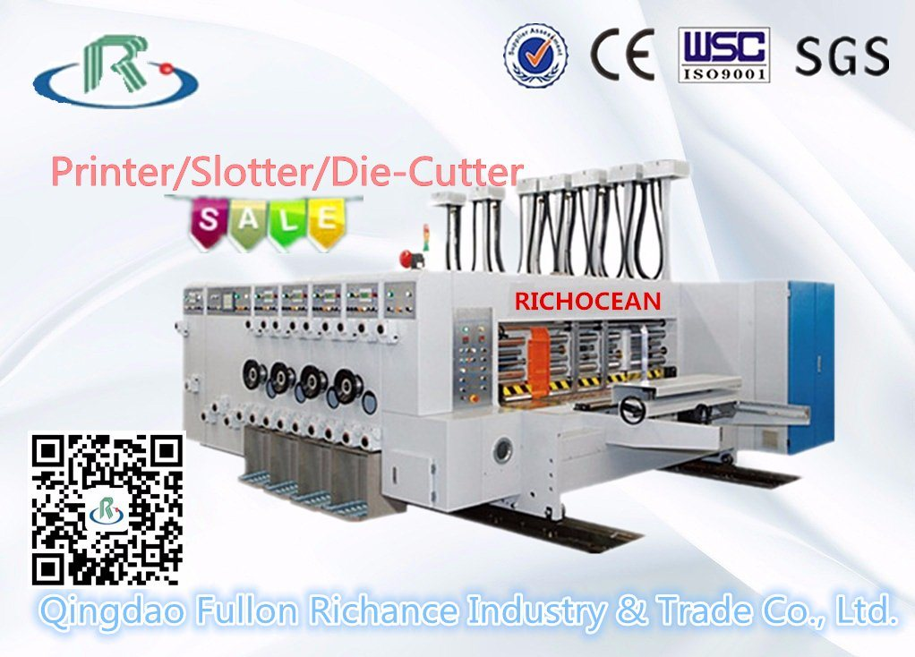 7 Series 4-Color Flexo Printing Slotting Die Cutter