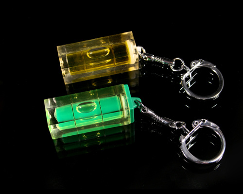 Spirit Level With Key Chain (EV-V912)
