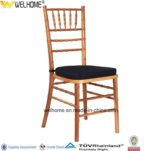 Cheap Wood Stackable Chiavair Chair for Wedding
