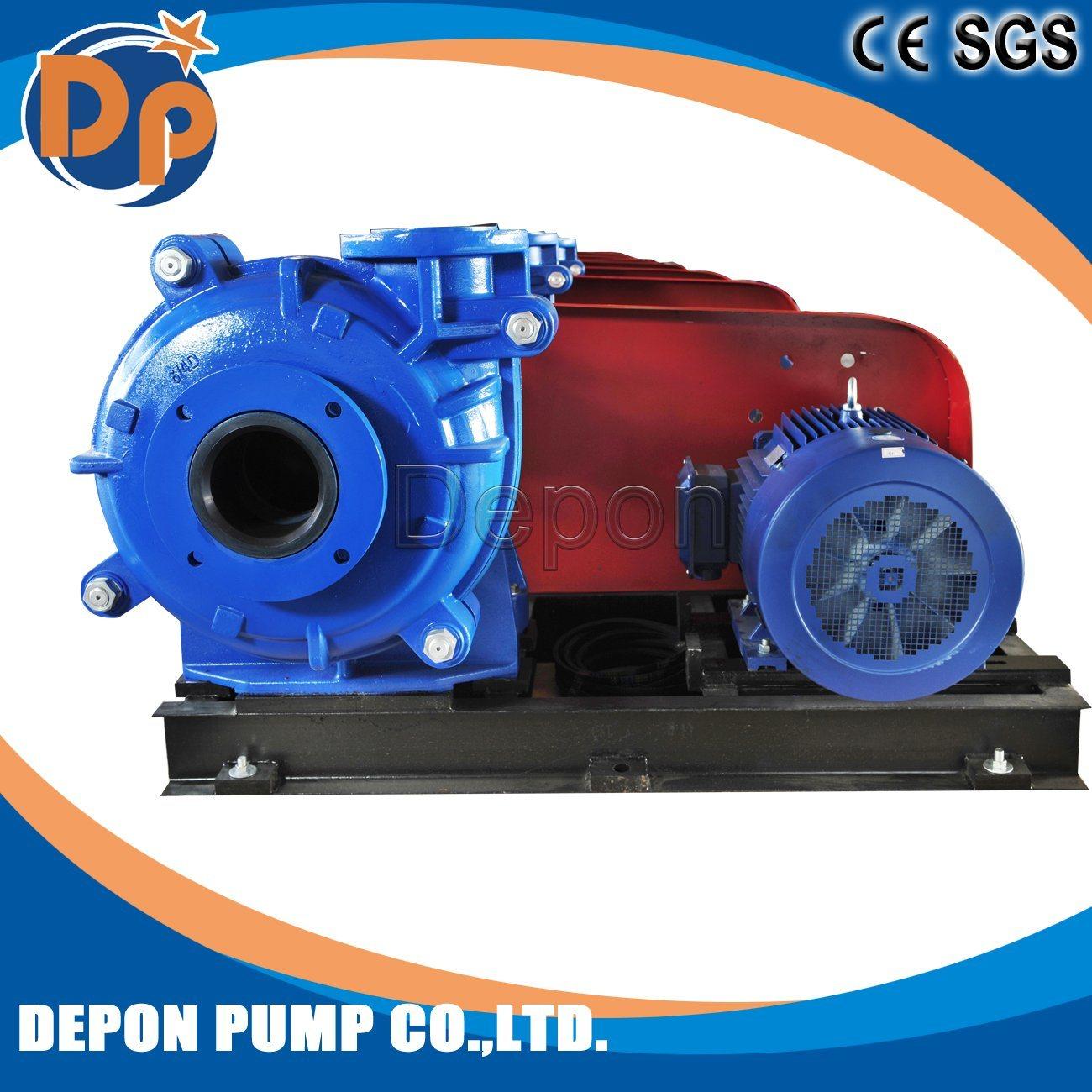 6X4d-mAh Gold Mine Slurry Pump Centrifugal Type