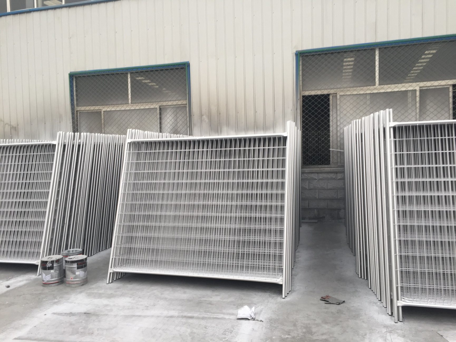 Temporary Security Fence Panels 2100mm X 2400mm Panels Brand New