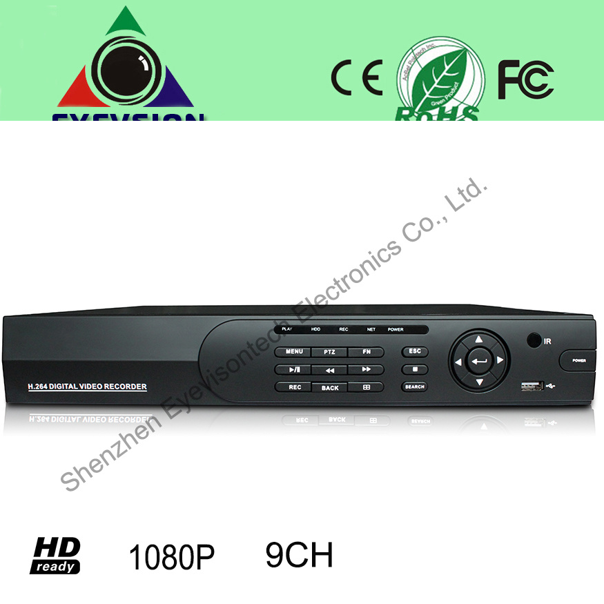 9CH H. 264 HD (1080P) IP Camera Security NVR (EV-CH09-H1405)