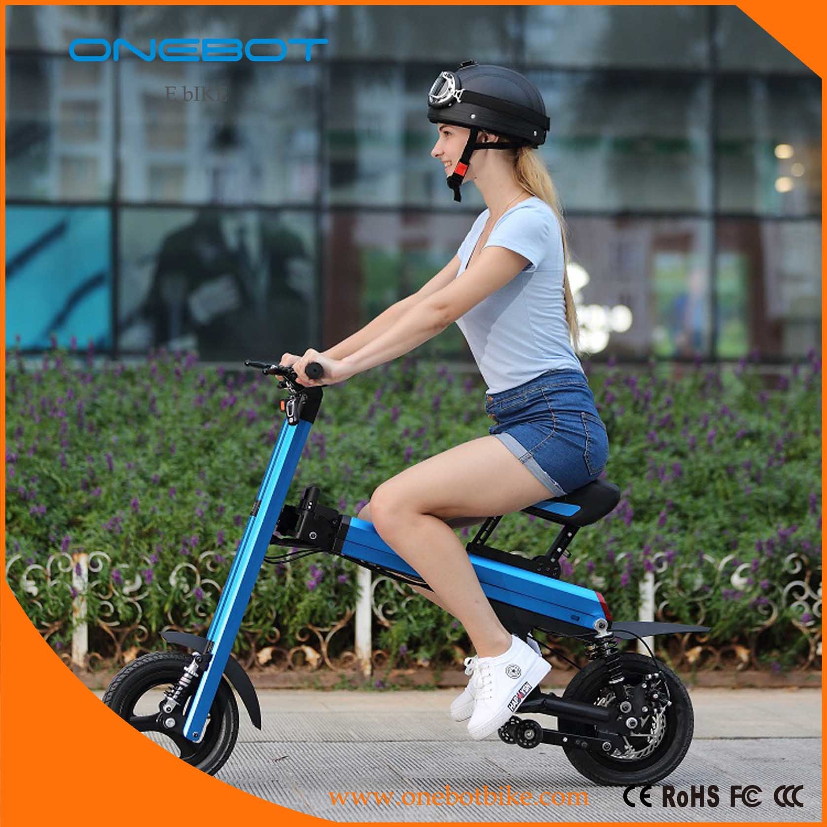 """12"""" 36V 500W Lady City Ebike Electric Scooter"""