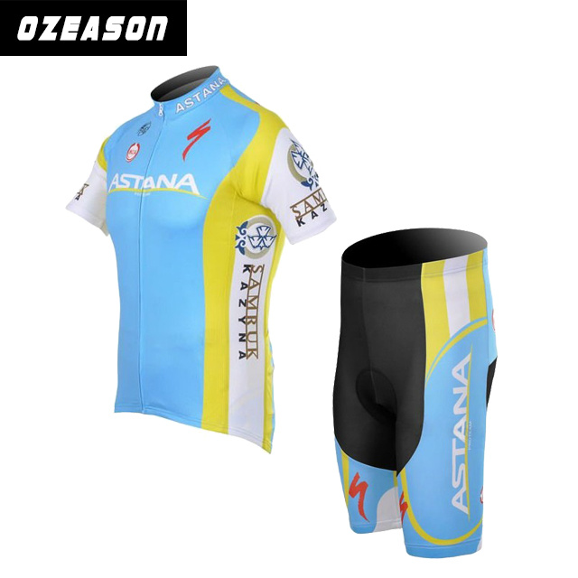 Custom Made Sublimation Winter Cycling Shorts