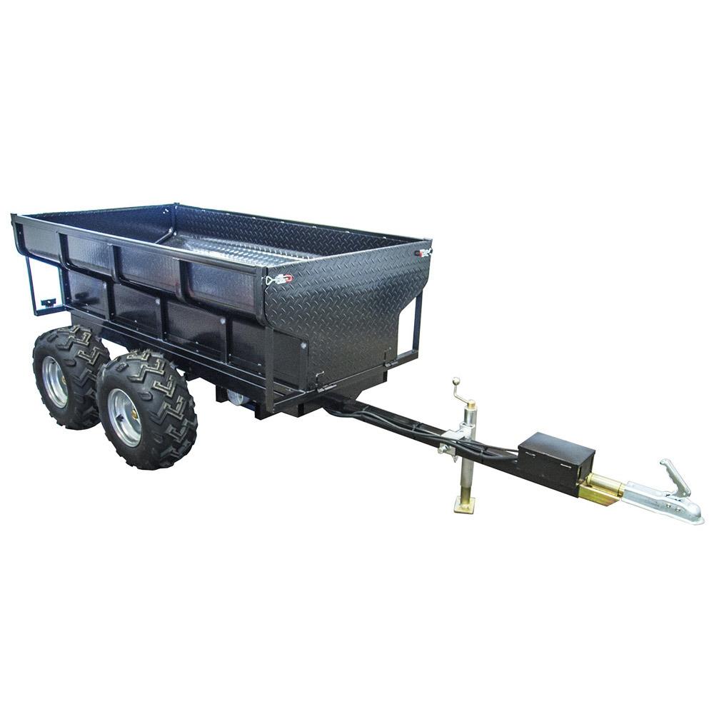 1.5t Hydraulic Tipping Farm Trailer, ATV Dump Trailer, Utility Trailer