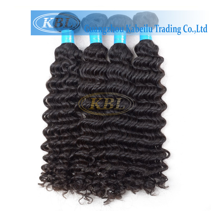 Free Sample Hair Bundles, Natural Black 8A Grade Brazilian Hair Kinky Curly Hair