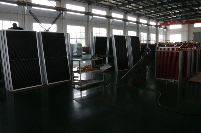 Hydrophlic Fin Copper Tube Air Conditioner Heat Exchanger
