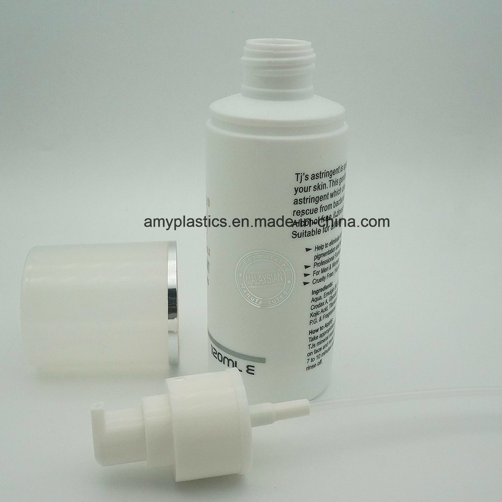 High Quality 120ml Cosmetic Airless Pump Lotion Bottle