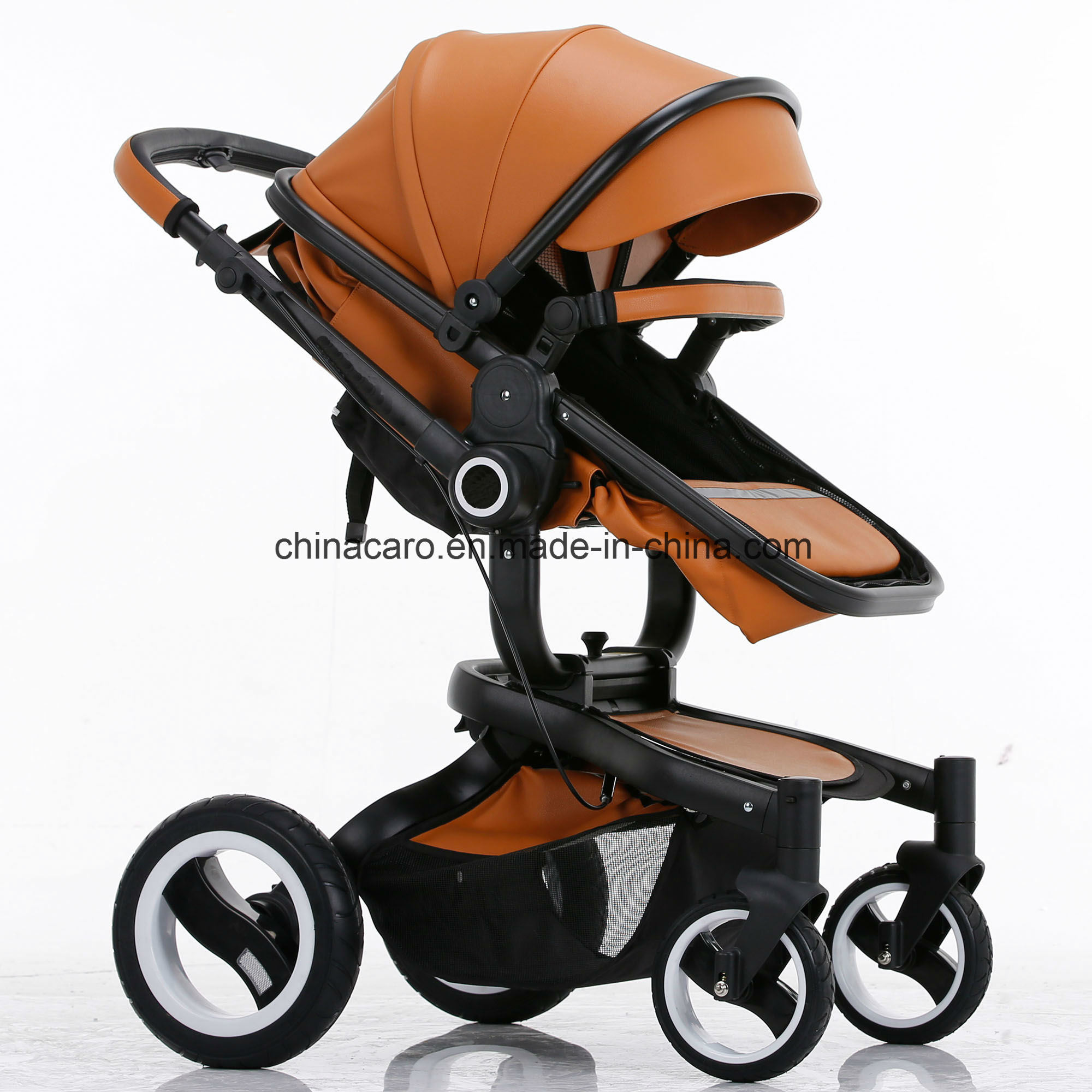 2017 New Design Luxury Fold Baby Stroller with European Standard