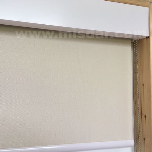 Roller Shade with Fascia for Window Treatment