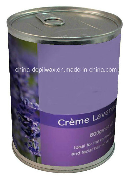 800g Can Soft Depilatory Wax Green Apple Flavor Wax