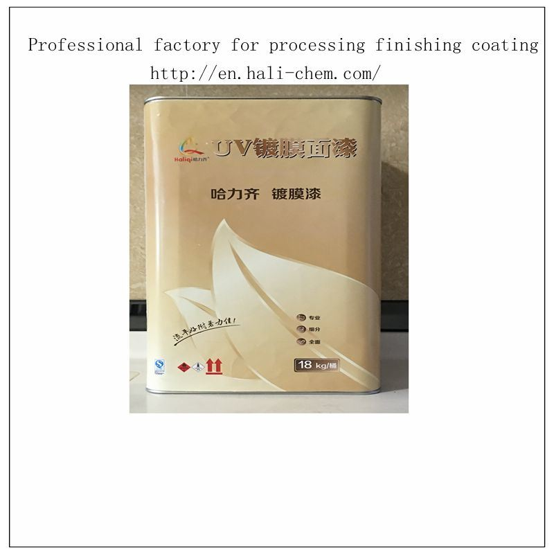 Ceramics Vacuum Plating Coating UV Top Coat (HL-505)