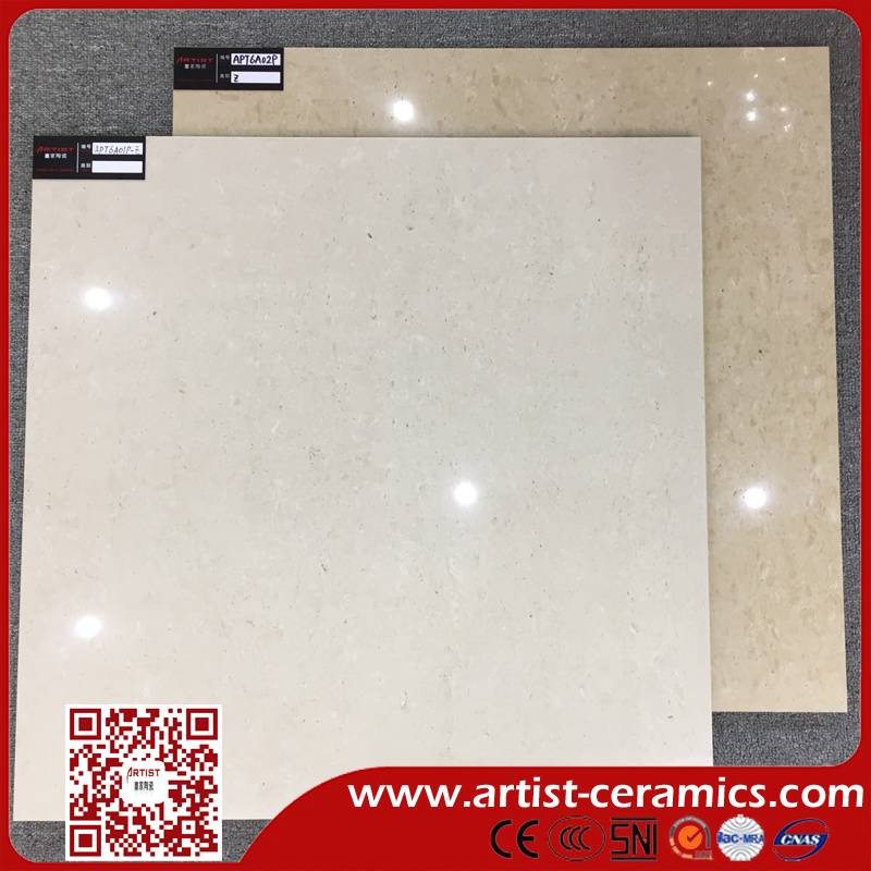 Travertine Double Loading Porcelain Tiles for Floor Size 600X600mm