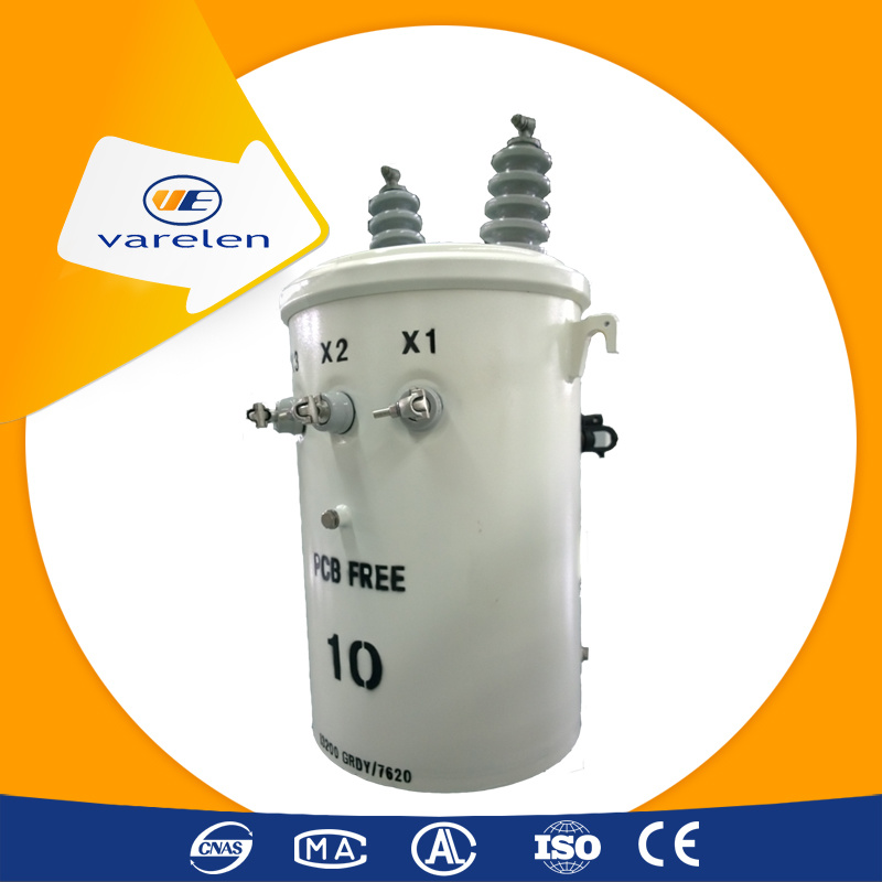 Single Phase Oil Type Transformer Supply