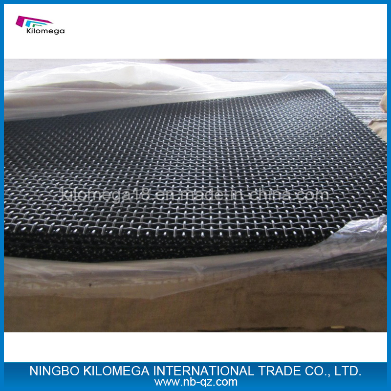 Crimped Plain Woven Mesh for Mine Sieving and Crushers