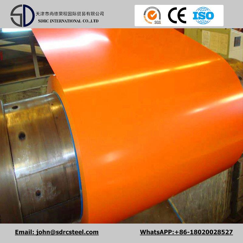 Color Coated Steel/Prime Prepainted Galvanized Steel Coil/PPGI