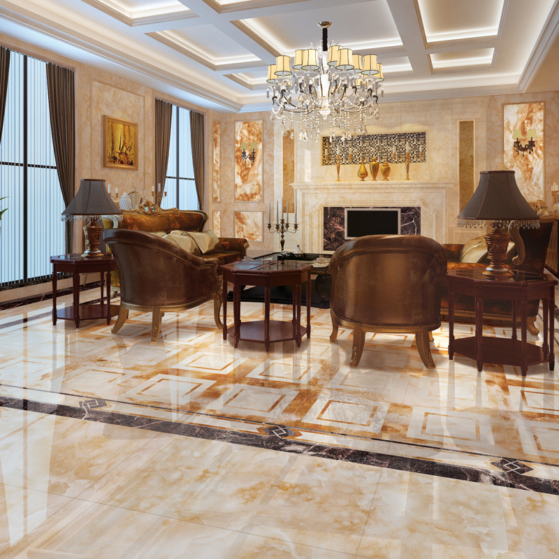 Burma Jade Colorful Marble Tile Romanio High-End Royal Luxury Dining Living Room