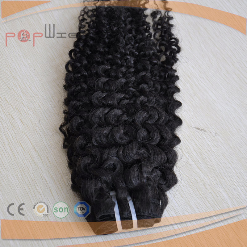 New Technology Full Middle East Water Wavy Human Hair Weft