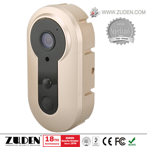 2017 Newest WiFi Video Doorbell with PIR Sensor & Rechargeable Battery