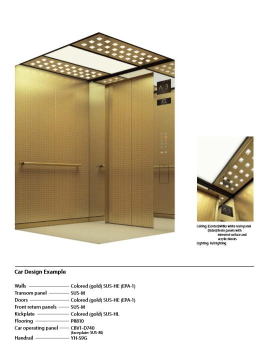 Compact Machine Room Passenger Elevator