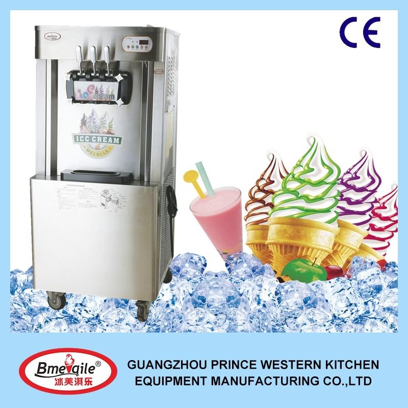 Cheap Price New Type Frozen Commercial Yogurt Soft Ice Cream Machine for Sale